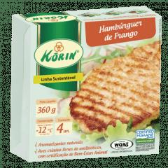 HAMBURGUER DE FRANGO KORIN