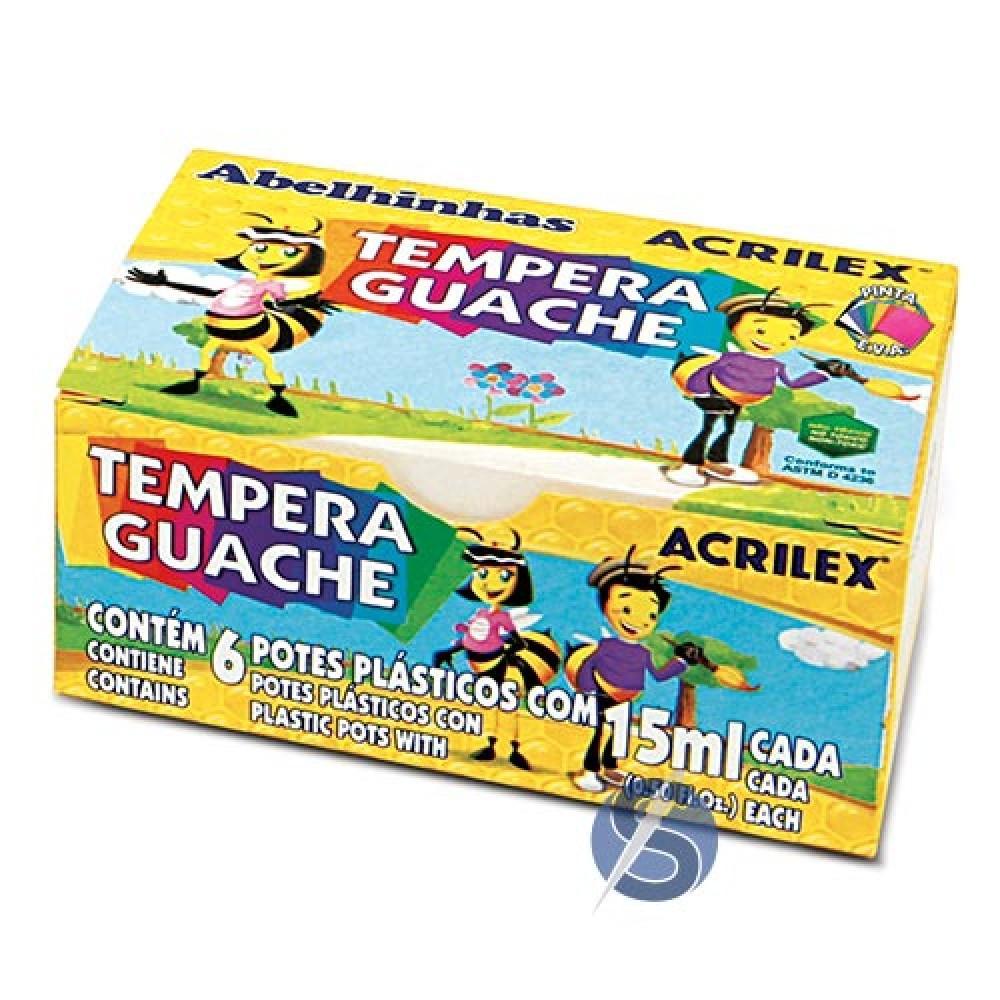 Tinta Tempera Guache Acrilex
