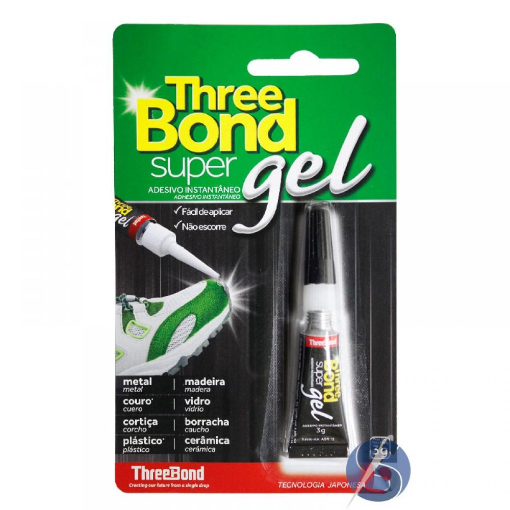 Cola Three Bond Super Gel 3 gramas