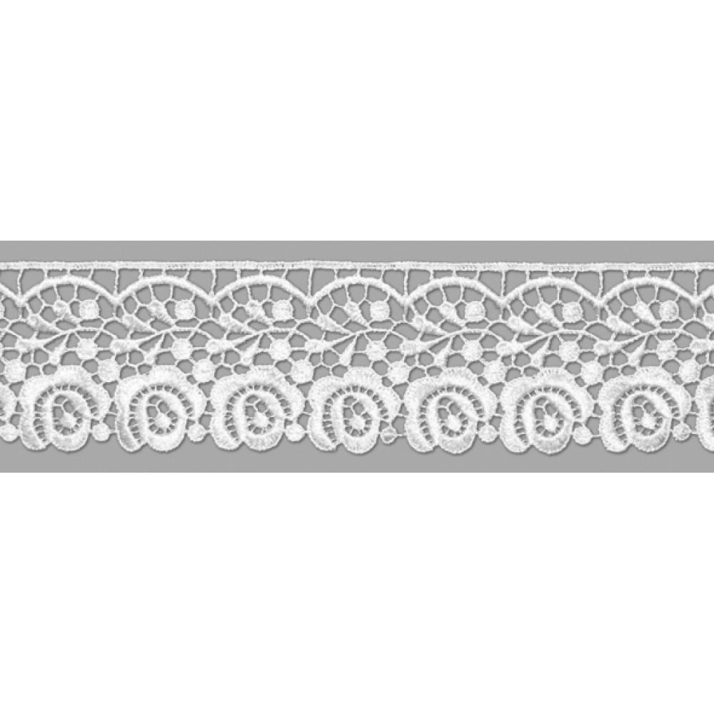Renda Guipir GP018 Branco
