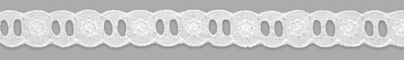 Passa Fita Branco 2.0 cm x 13,70 metros