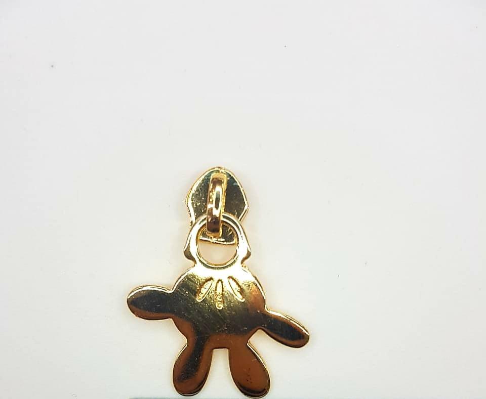 Cursor Dourado Mão Disney Nº5
