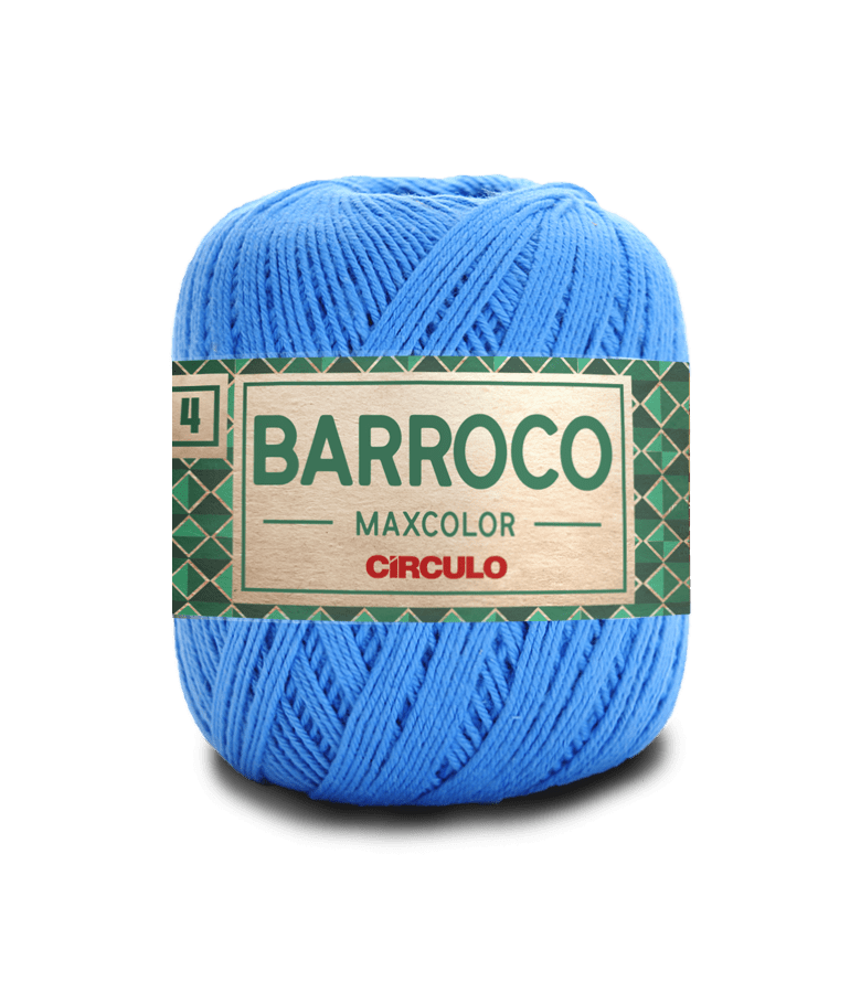 Barbante Barroco Maxcolor nº4 2500 Acqua 200gr