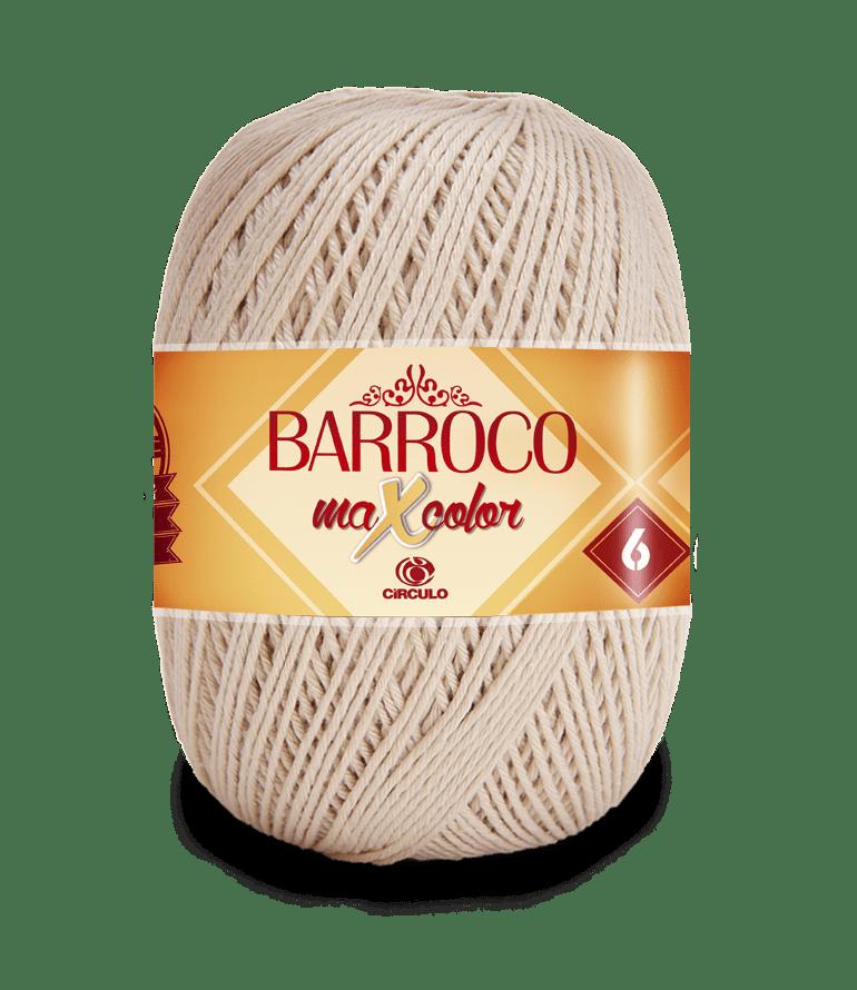 Barbante Barroco Maxcolor nº6 7684 Porcelana 400g