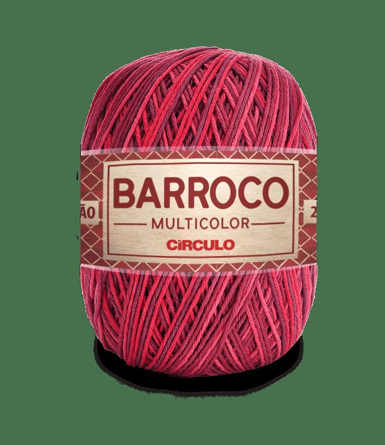 Barbante Barroco Multicolor nº6 9245 Geléia 400g