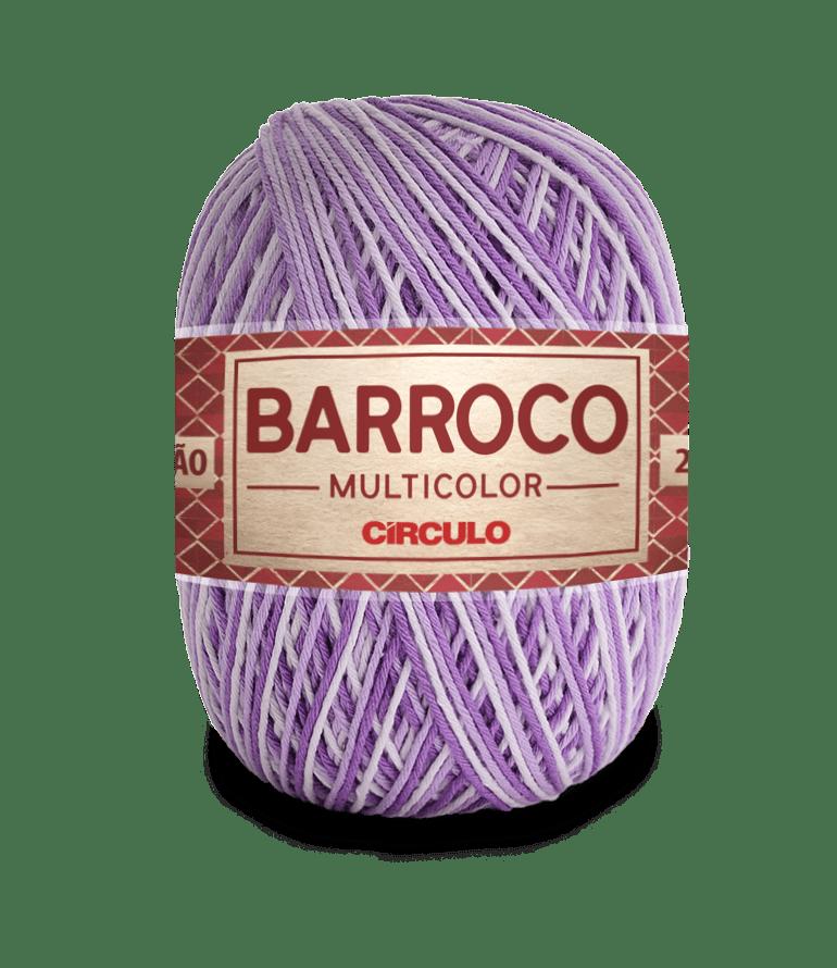 Barbante Barroco Multicolor nº6 9587 Boneca 400g