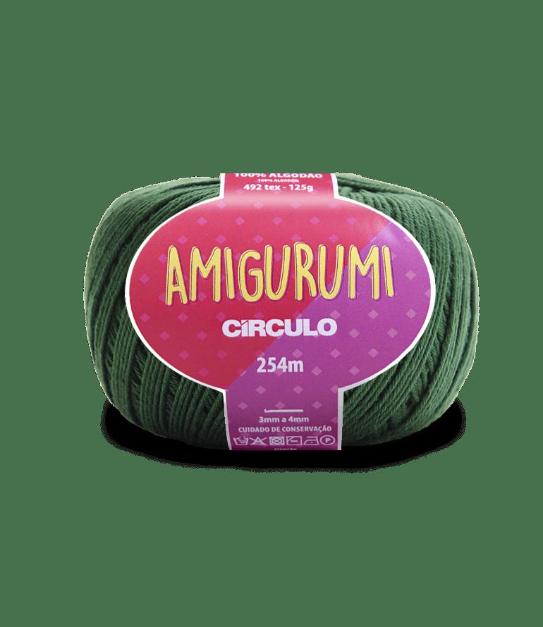 Linha Amigurumi 5398 Musgo 254m