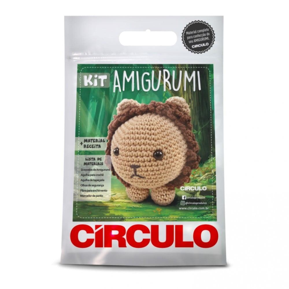 Kit Amigurumi Círculo Leão