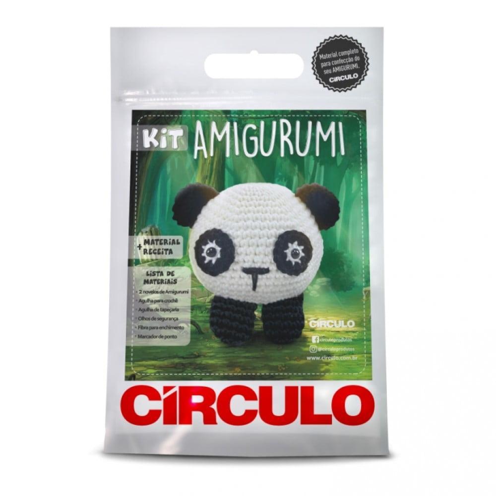 Kit Amigurumi Círculo Panda