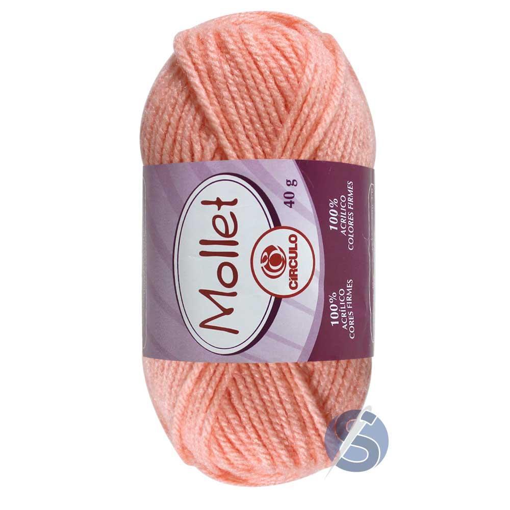 Lã Mollet Salmão 40 gr