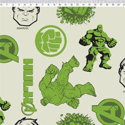 Tecido Tricoline Hulk