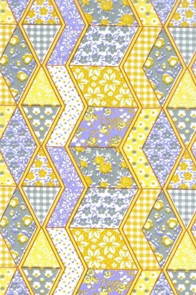 Tecido Tricoline PatchWork Amarelo