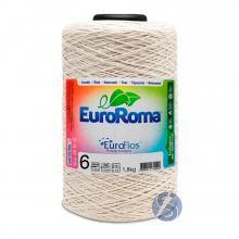 Barbante Euroroma Cru nº6