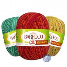 Barbante Barroco Multicolor Econômico nº6 100g