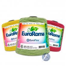 Barbante EuroRoma nº6 Cores 600gr