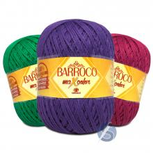 Barbante Barroco Maxcolor nº6 400g