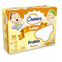 Fralda Cremer Luxo Branca