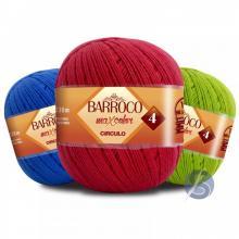 Barbante Barroco Maxcolor nº4 200gr