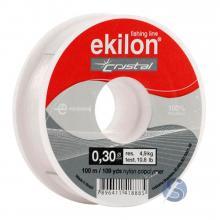 Linha de Nylon Pesca Ekilon Crystal 0,30mm 100m