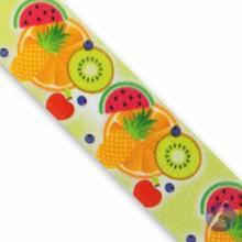 Fita de Cetim Salada de Frutas 35mm