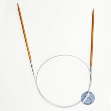 Agulha Circular Bambu 4mm 80cm