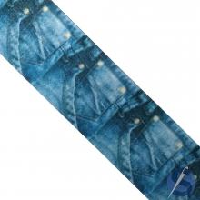 Fita de Gorgurão Bolso Jeans Escuro 38 mm