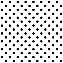 Tecido Tricoline Branco Poá Médio Preto