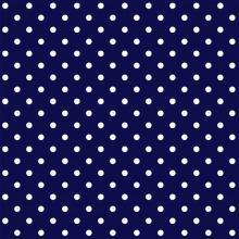 Tecido Tricoline Azul Marinho Poá Médio
