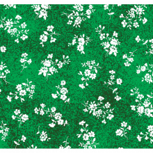 Tecido Tricoline Poeirinha Verde Flor