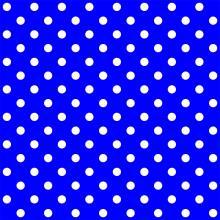 Tecido Tricoline Azul Bic Poá Grande