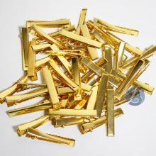 Bico de Pato Dourado Metal - 50 unidades - 4,5cm