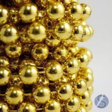 Aljofre 12mm Dourado