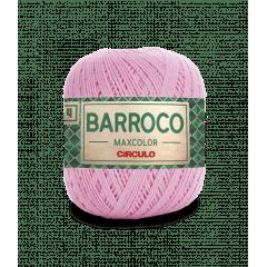 Barbante Barroco Maxcolor nº4 3526 Rosa Candy 200gr