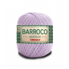 Barbante Barroco Maxcolor nº4 6006 Lilás Candy 200gr