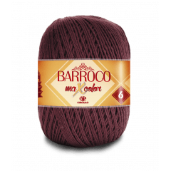 Barbante Barroco Maxcolor nº6 7311 Tabaco 400g