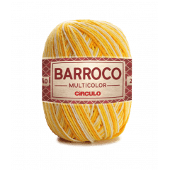 Barbante Barroco Multicolor nº6 9368 Raio de Sol 400g