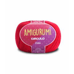Linha Amigurumi 3528 Carmim 254m