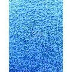 Tecido Atoalhado Felpudo Azul Royal