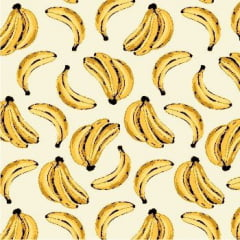 Tecido Tricoline Bege Banana