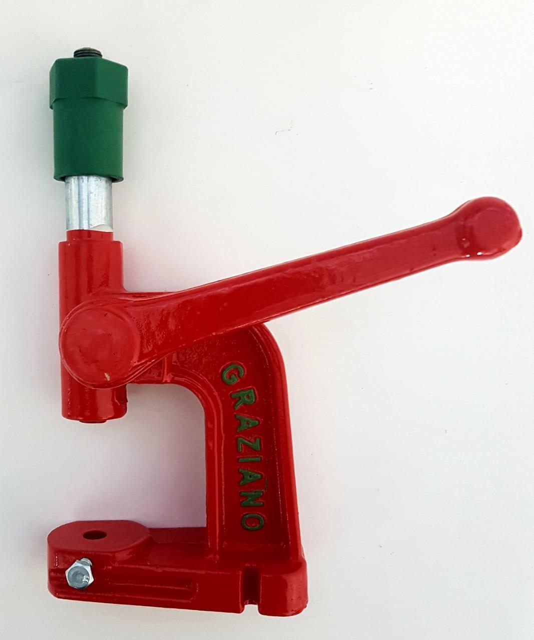 Maquina para Forrar Botões Cor Vermelho