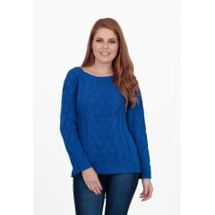 Blusa Mousse Tranças - REF. 599