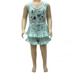 Short Doll regata Infantil