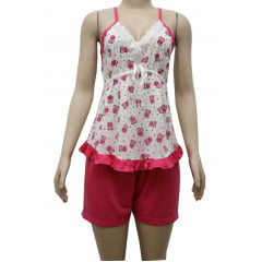 Pijama Short Doll Estampado