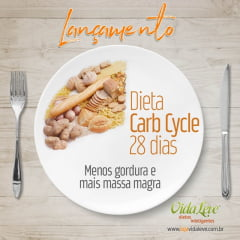 Dieta Carb Cycle 28 dias - com Ultrassom