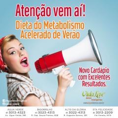 Dieta do Metabolismo Acelerado Verão - 28 dias