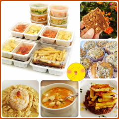 Kit Box Semanal - 15  refeições