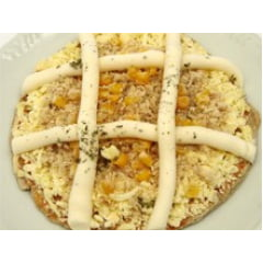 Pizza Integral de Frango com Catupiry