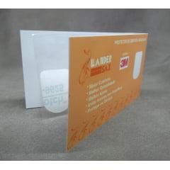 Adesivo Protetor de Boquilhas Transparente em formato U