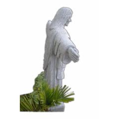 Cristo Redentor De Pedra Sabão 1,50 De Altura Super Grande