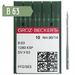 Agulha de Máquina Groz Beckert para Costura B63 - GALONEIRA - Envelope c/10 und